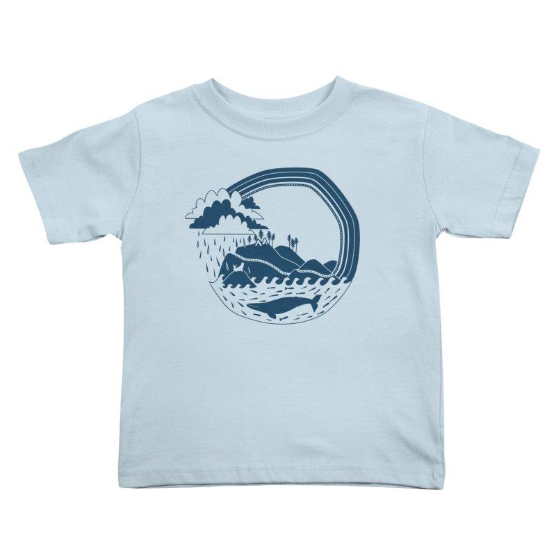 Pacific Coast Explorer Kids Toddler T-Shirt by eleventy-five's Shop