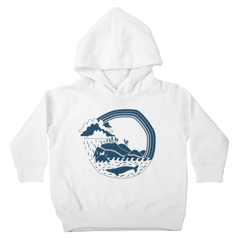 Pacific Coast Explorer Kids Toddler Pullover Hoody by eleventy-five's Shop