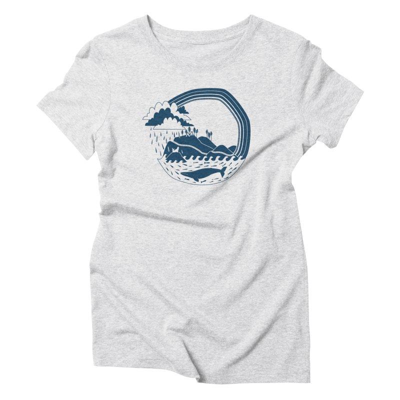 Pacific Coast Explorer Women's Triblend T-Shirt by eleventy-five's Shop