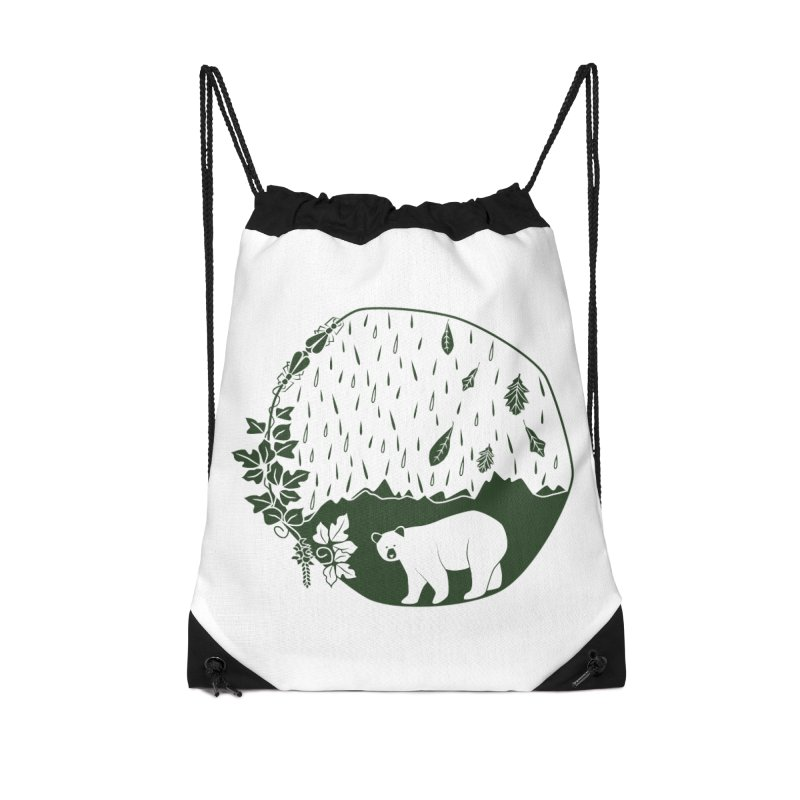 Atlantic Coast Explorer Accessories Drawstring Bag Bag by eleventy-five's Shop