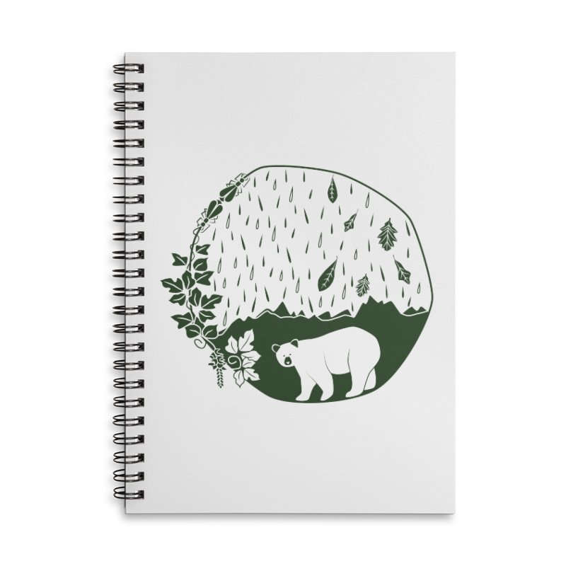 Atlantic Coast Explorer Accessories Lined Spiral Notebook by eleventy-five's Shop