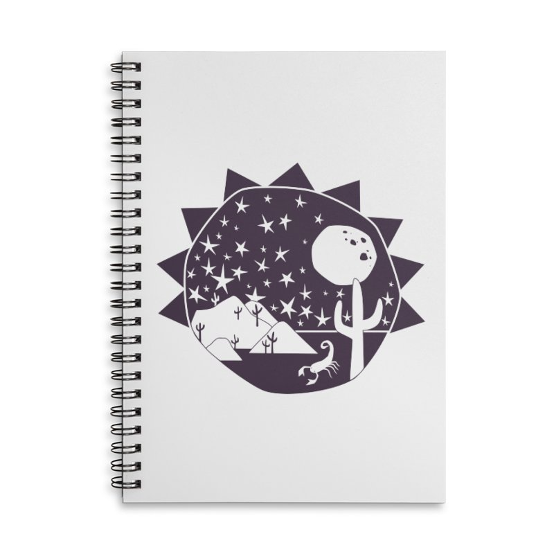 Southwest Explorer Accessories Lined Spiral Notebook by eleventy-five's Shop