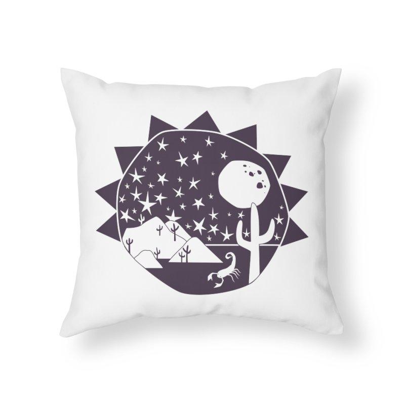 Southwest Explorer Home Throw Pillow by eleventy-five's Shop