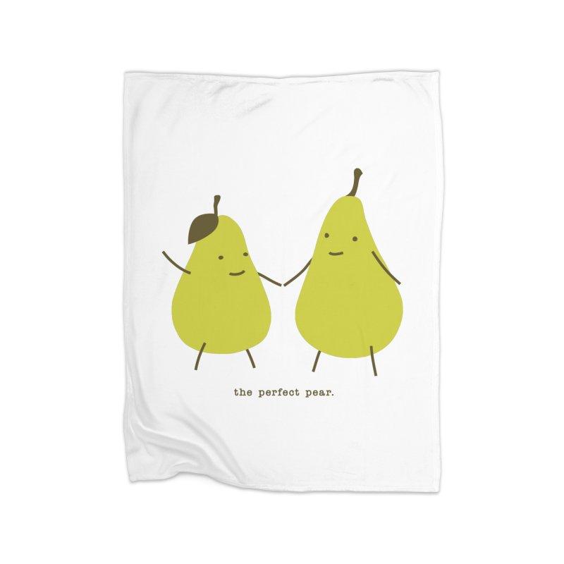 Perfect Pear Home Fleece Blanket Blanket by eleventy-five's Shop