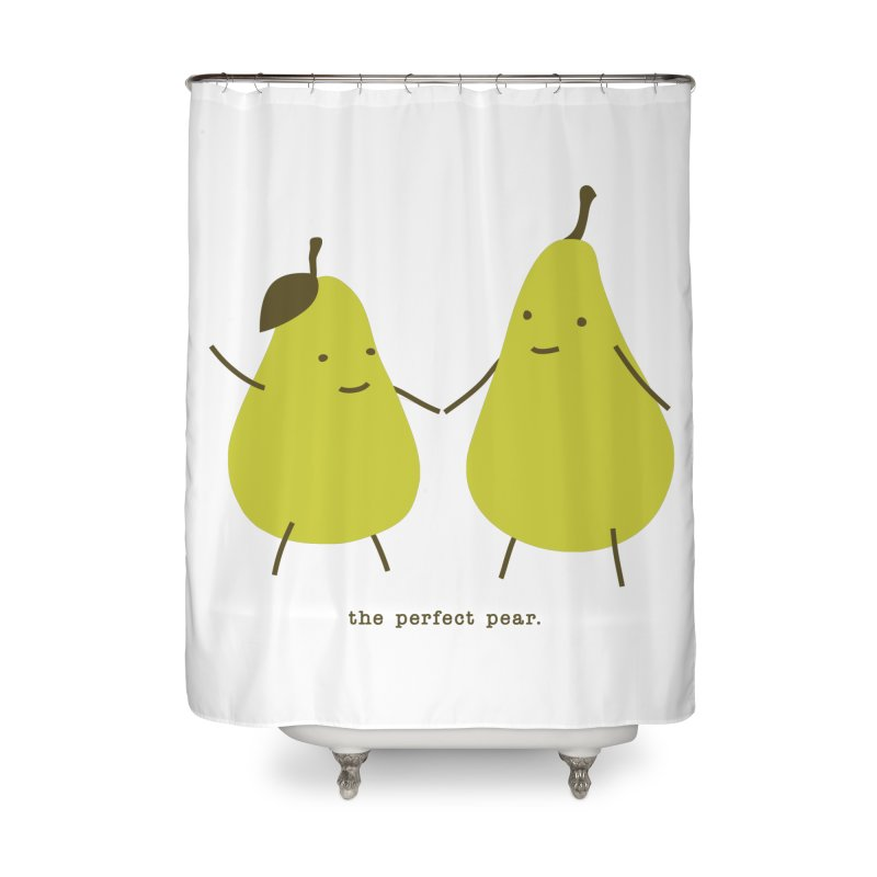 Perfect Pear Home Shower Curtain by eleventy-five's Shop