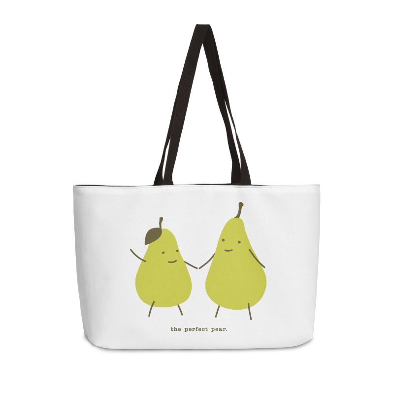 Perfect Pear Accessories Weekender Bag Bag by eleventy-five's Shop