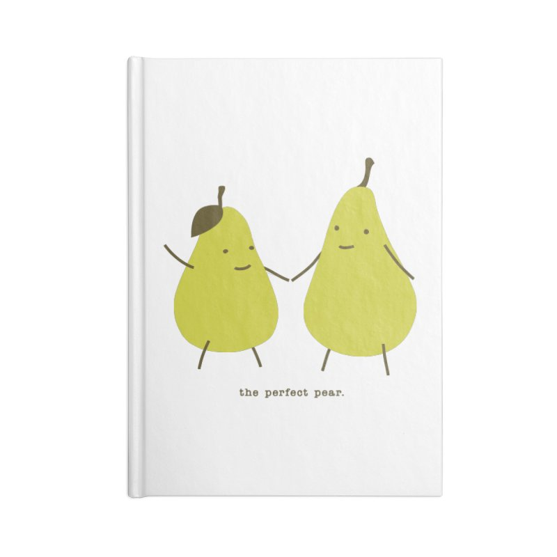 Perfect Pear Accessories Lined Journal Notebook by eleventy-five's Shop