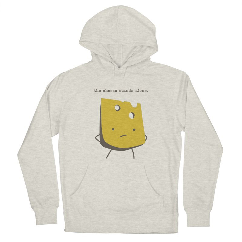 Lonely Cheese Women's French Terry Pullover Hoody by eleventy-five's Shop
