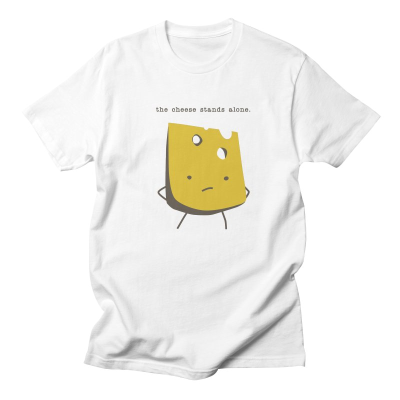 Lonely Cheese Men's T-Shirt by eleventy-five's Shop