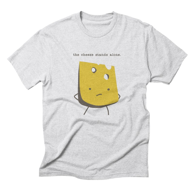 Lonely Cheese Men's Triblend T-Shirt by eleventy-five's Shop