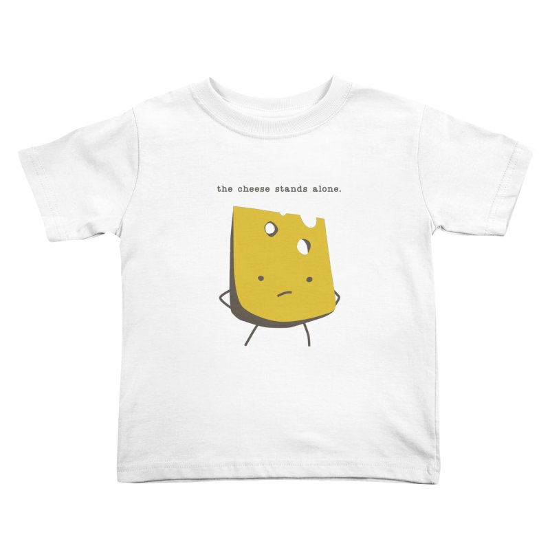 Lonely Cheese Kids Toddler T-Shirt by eleventy-five's Shop