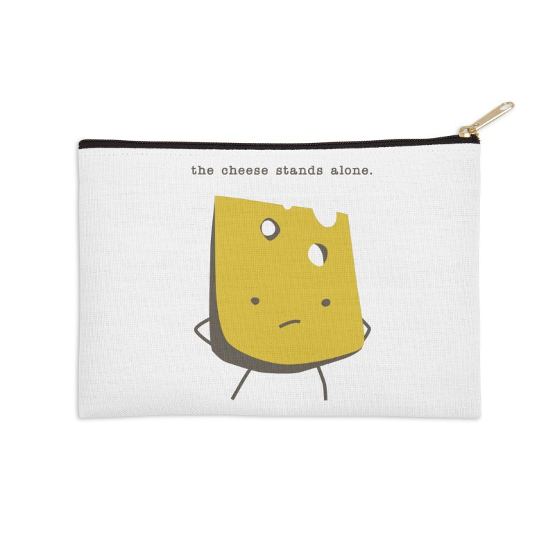 Lonely Cheese Accessories Zip Pouch by eleventy-five's Shop