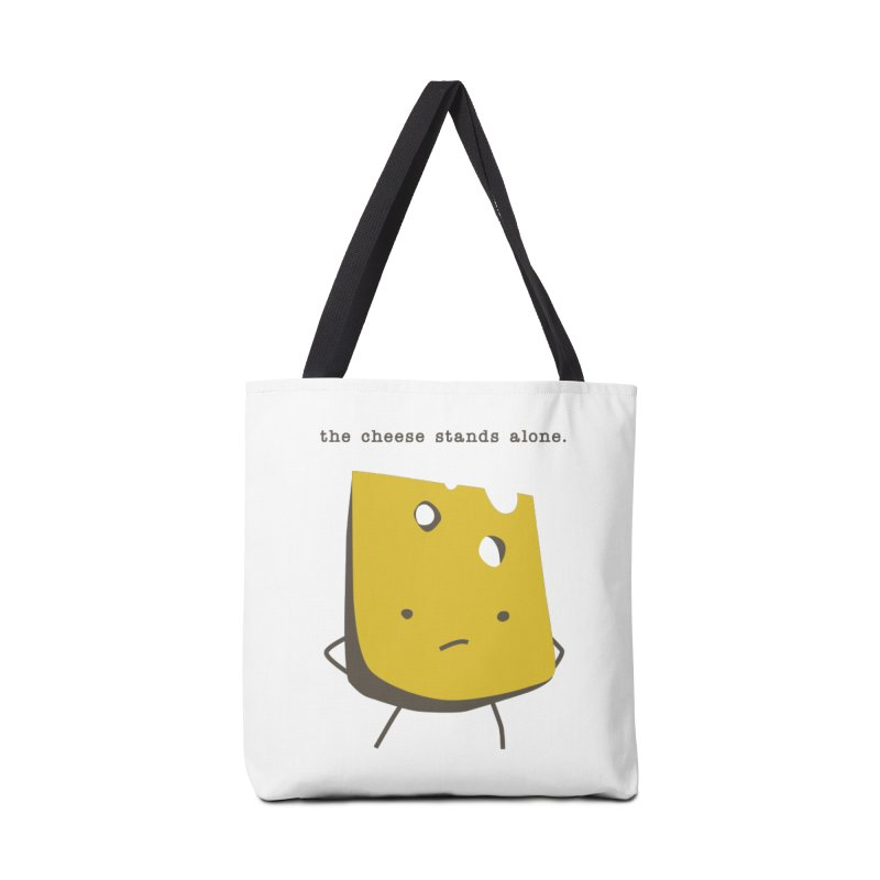 Lonely Cheese Accessories Tote Bag Bag by eleventy-five's Shop