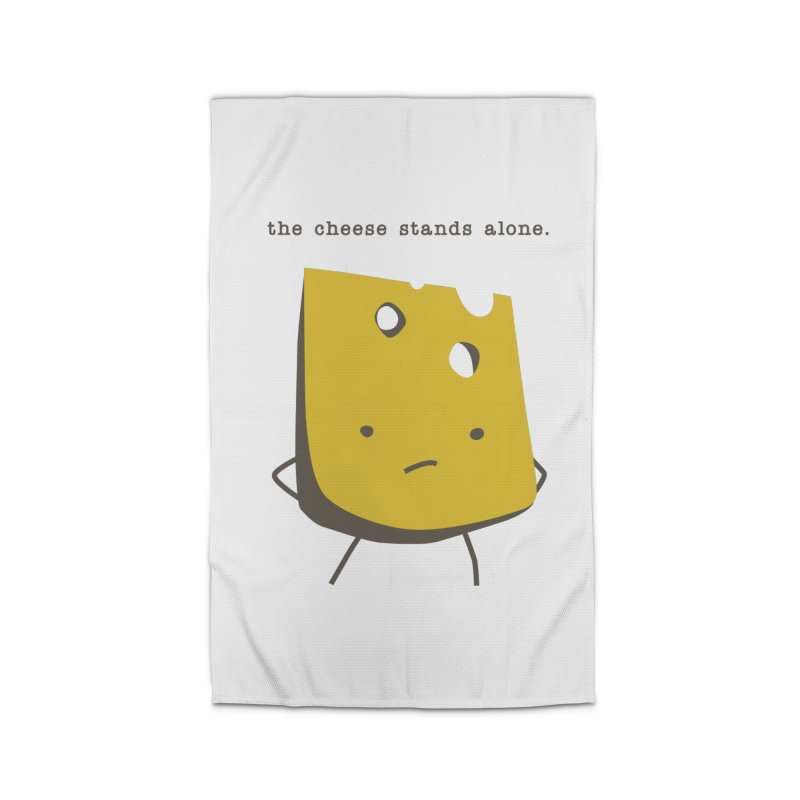 Lonely Cheese Home Rug by eleventy-five's Shop