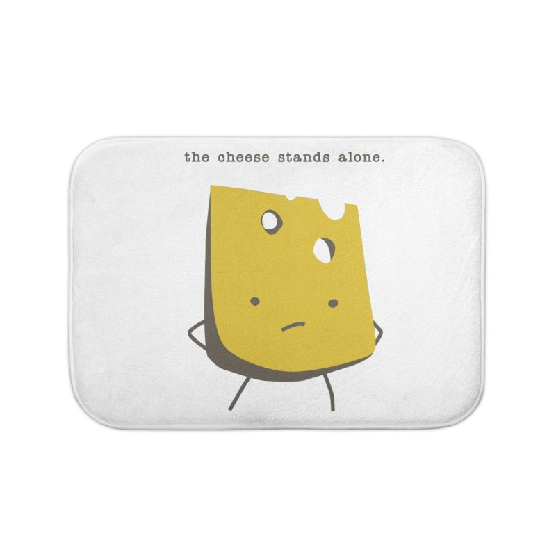 Lonely Cheese Home Bath Mat by eleventy-five's Shop