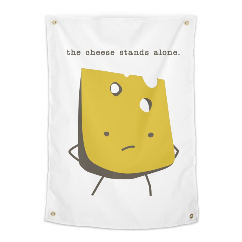 Lonely Cheese Home Tapestry by eleventy-five's Shop