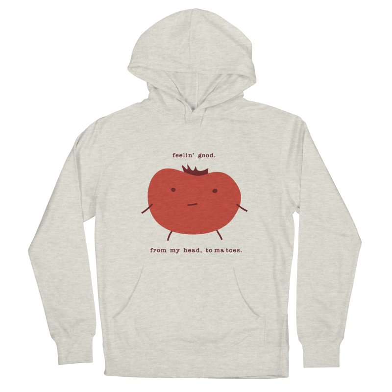 Good Feelings Tomato Women's French Terry Pullover Hoody by eleventy-five's Shop