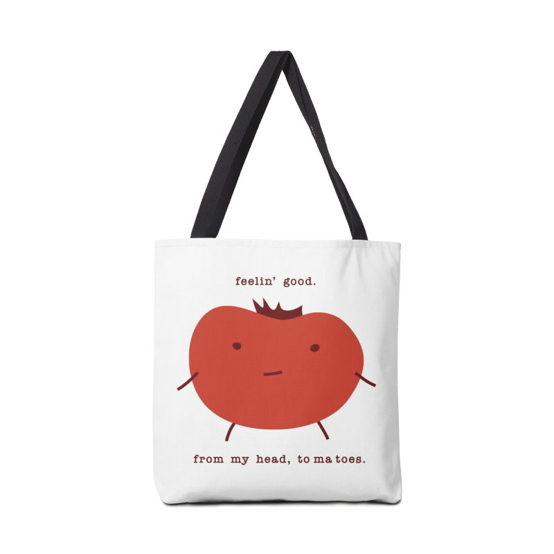 Good Feelings Tomato Accessories Tote Bag Bag by eleventy-five's Shop