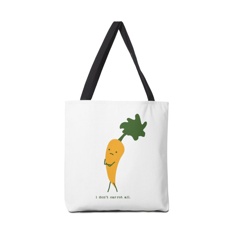 Don't Care Carrot Accessories Tote Bag Bag by eleventy-five's Shop