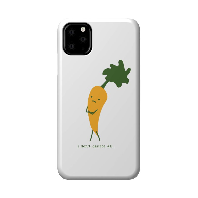 Don't Care Carrot Accessories Phone Case by eleventy-five's Shop