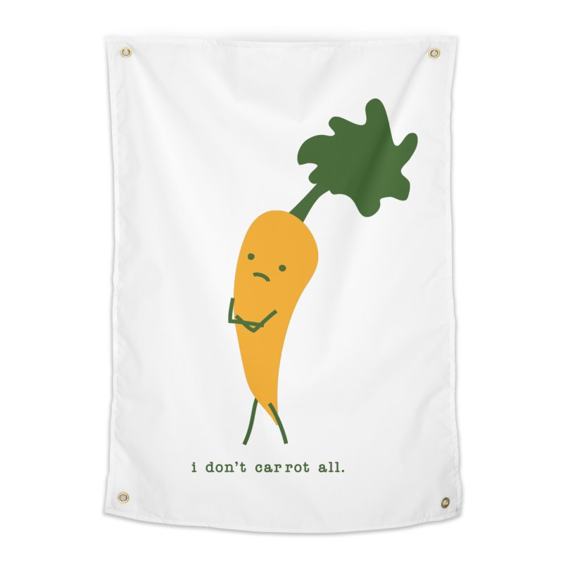 Don't Care Carrot Home Tapestry by eleventy-five's Shop