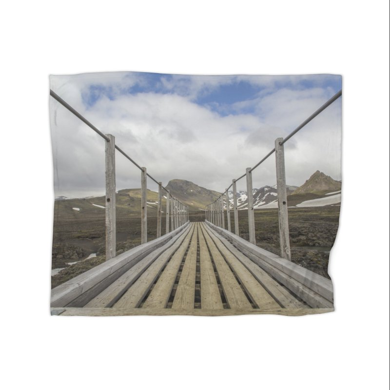 Into the Unknown Home Fleece Blanket Blanket by ElfaFrid's Shop