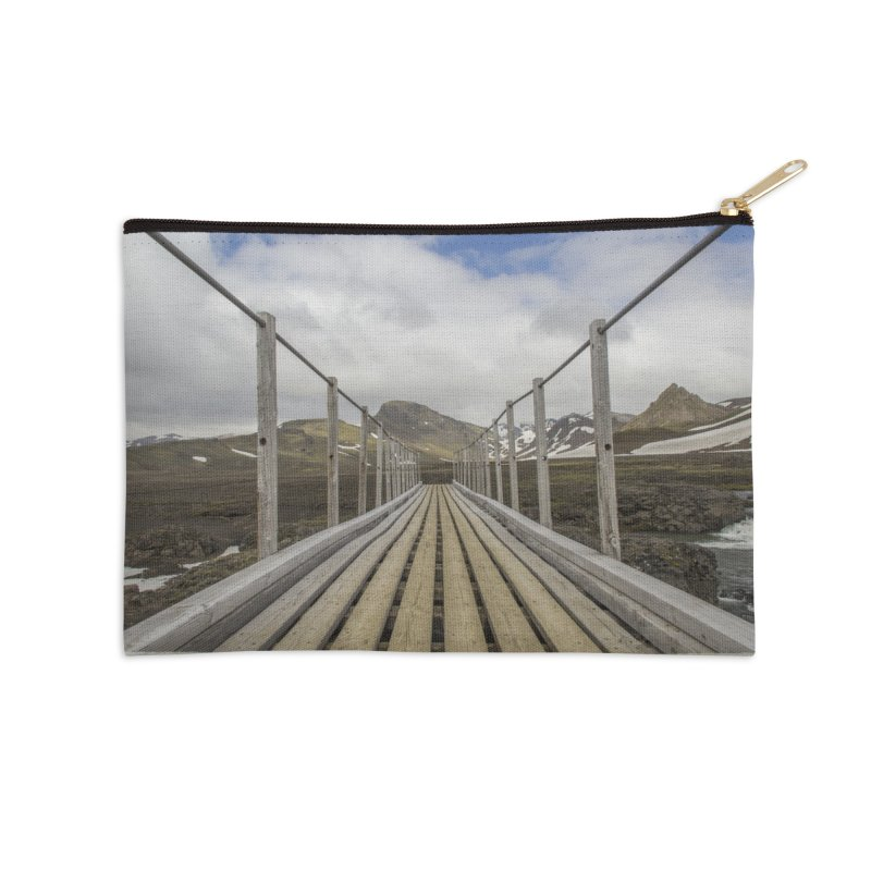 Into the Unknown Accessories Zip Pouch by ElfaFrid's Shop