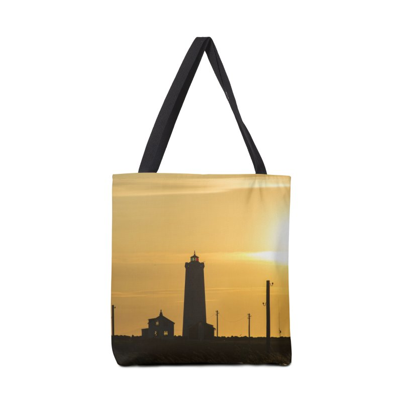 Yellow Sunset Accessories Bag by ElfaFrid's Shop