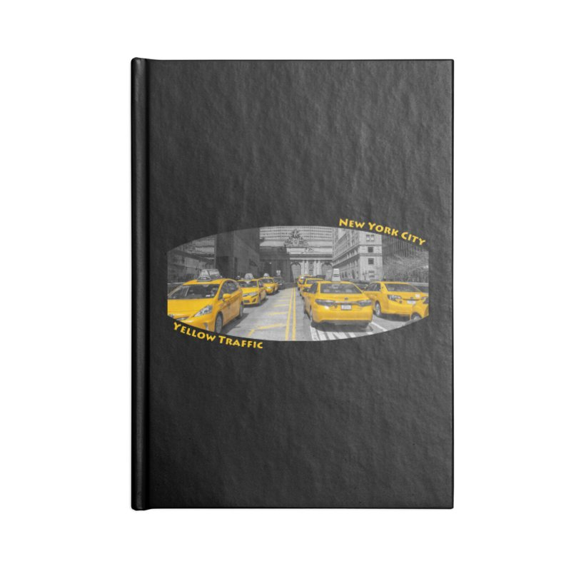 Yellow Traffic Accessories Notebook by ElfaFrid's Shop