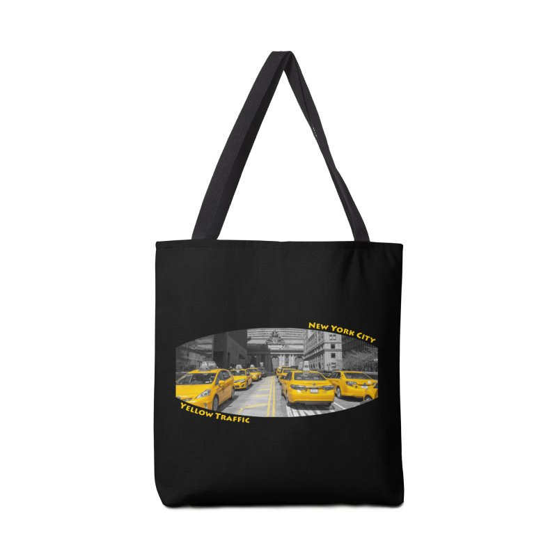 Yellow Traffic Accessories Bag by ElfaFrid's Shop