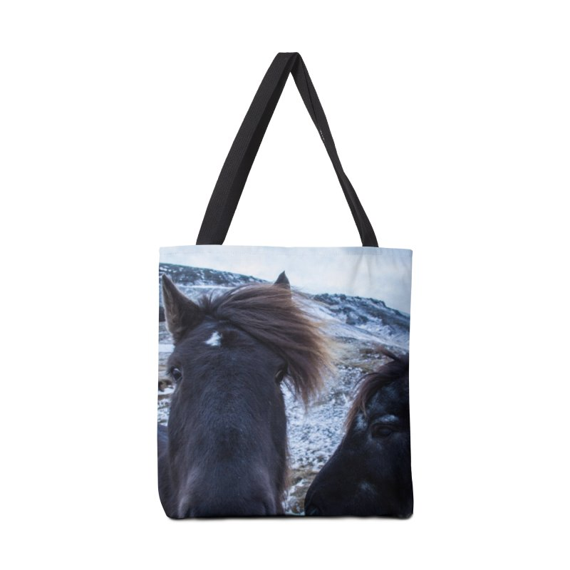 Icelandic Horsepower Accessories Bag by ElfaFrid's Shop