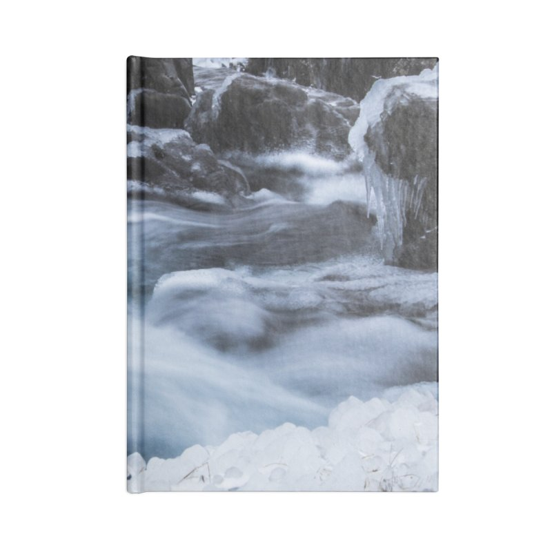 Frosty Lake Accessories Blank Journal Notebook by ElfaFrid's Shop