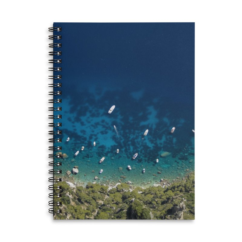 Quorum Accessories Lined Spiral Notebook by ElfaFrid's Shop