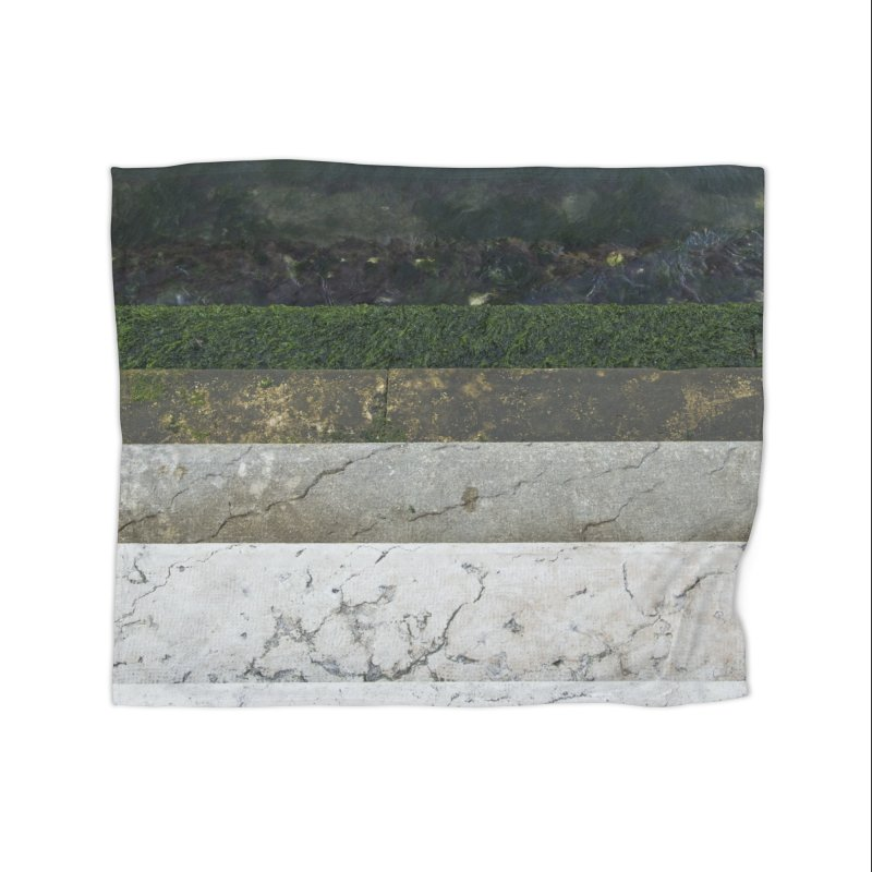 Marble Spectrum Home Fleece Blanket Blanket by ElfaFrid's Shop