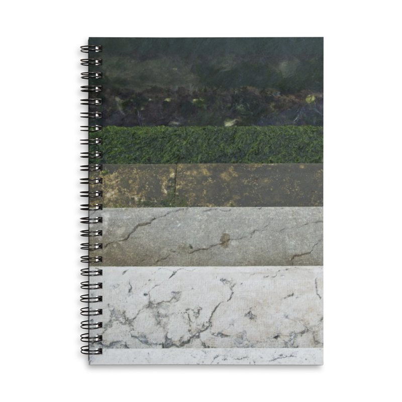 Marble Spectrum Accessories Lined Spiral Notebook by ElfaFrid's Shop