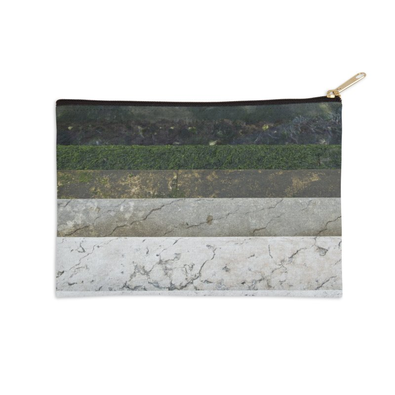 Marble Spectrum Accessories Zip Pouch by ElfaFrid's Shop