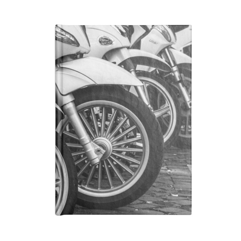 Waiting Wheels Accessories Blank Journal Notebook by ElfaFrid's Shop
