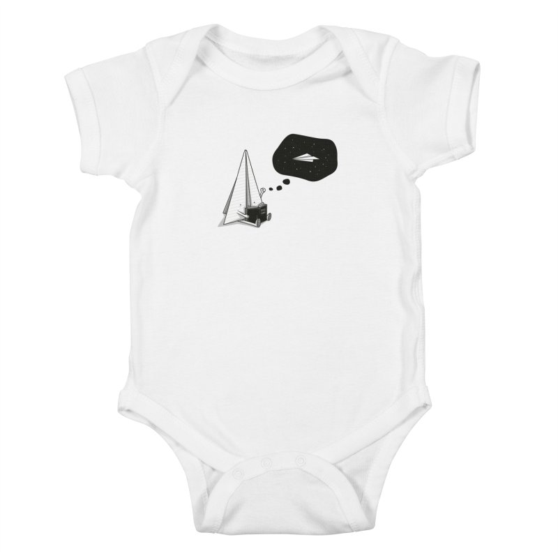 Beyond borders Kids Baby Bodysuit by Elia Colombo