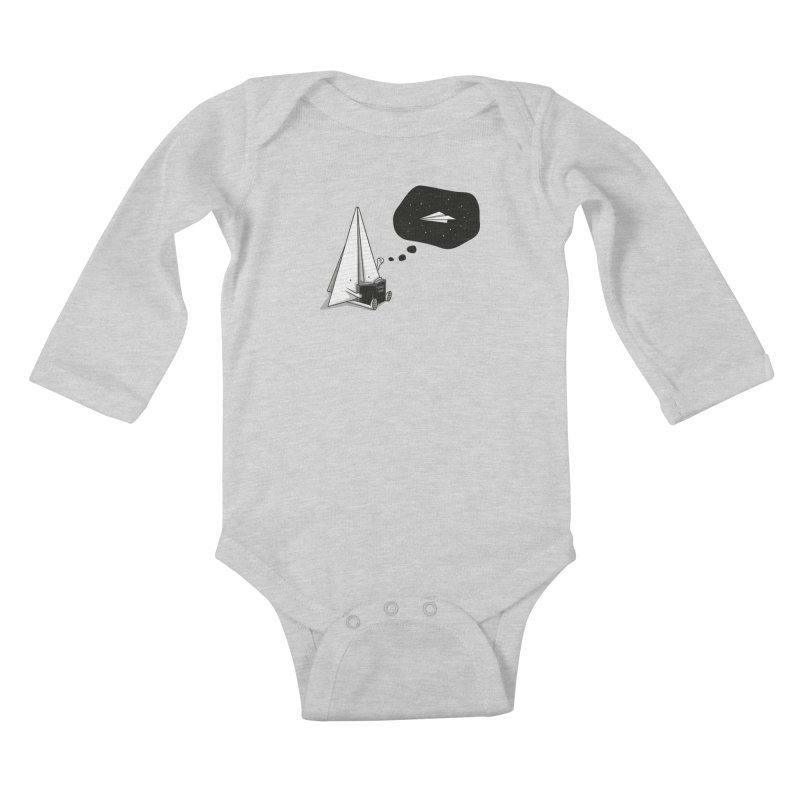 Beyond borders Kids Baby Longsleeve Bodysuit by Elia Colombo