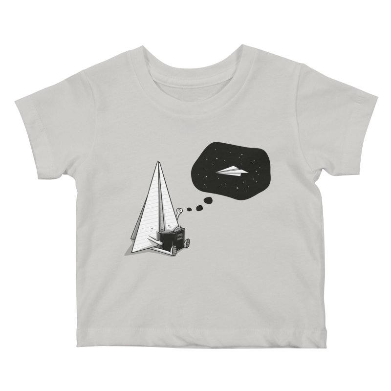 Beyond borders Kids Baby T-Shirt by Elia Colombo