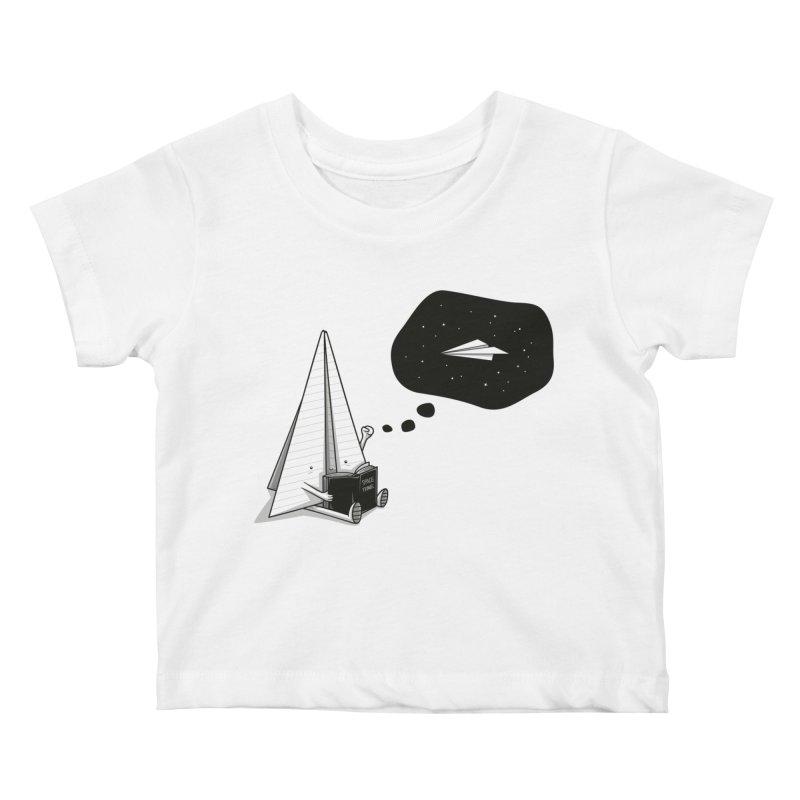 Beyond borders Kids Baby T-Shirt by Elia Colombo