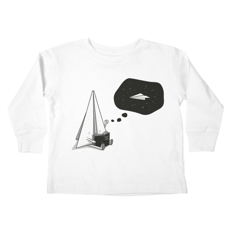 Beyond borders Kids Toddler Longsleeve T-Shirt by Elia Colombo