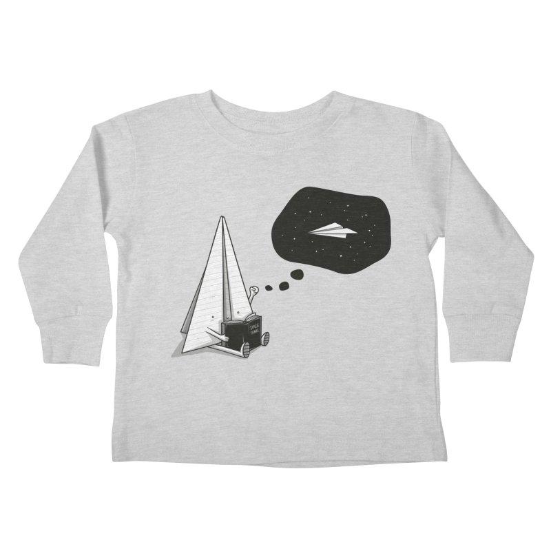 Beyond borders Kids Toddler Longsleeve T-Shirt by Elia Colombo