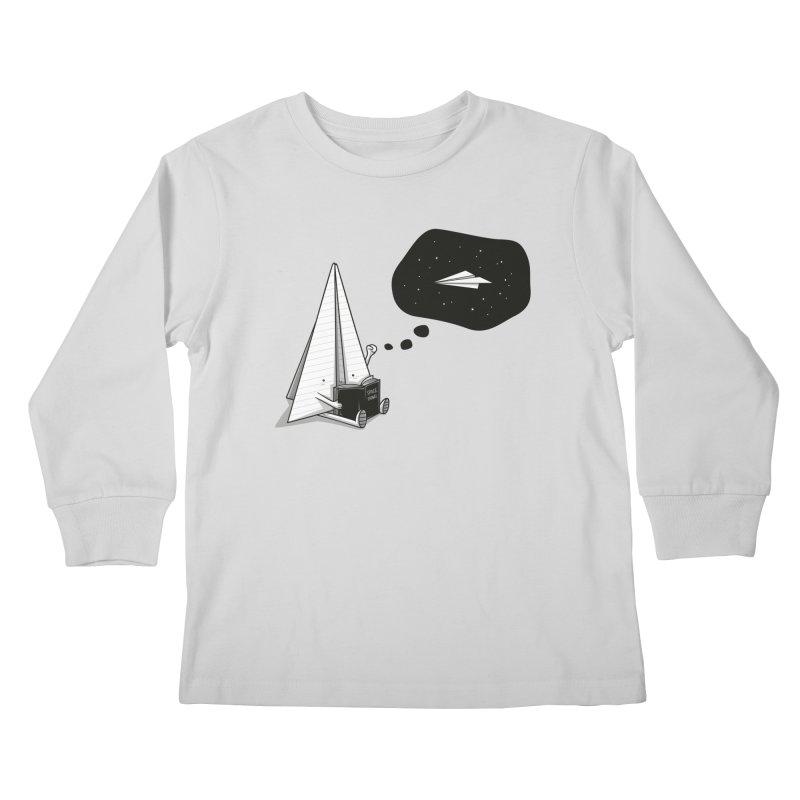 Beyond borders Kids Longsleeve T-Shirt by Elia Colombo