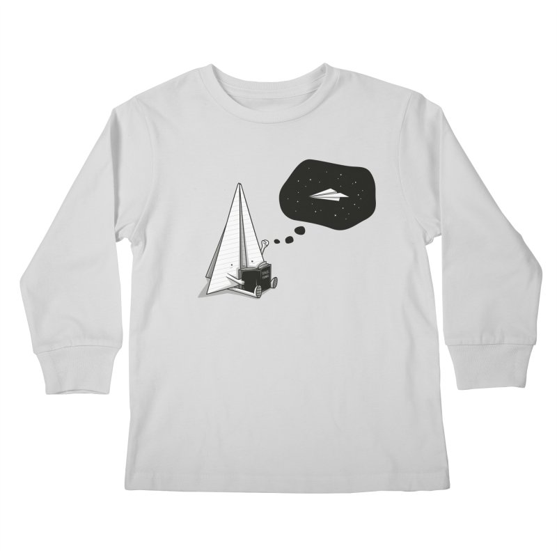 Beyond borders Kids Longsleeve T-Shirt by Elia Colombo