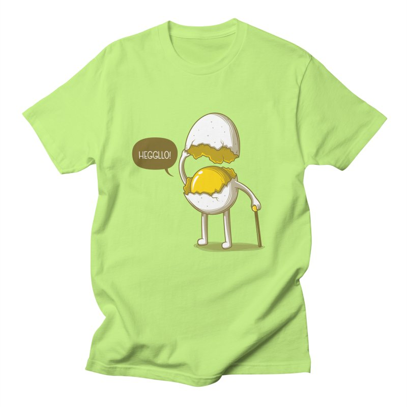 Heggllo! Men's Regular T-Shirt by Elia Colombo
