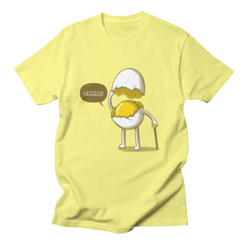 Heggllo! Men's Regular T-Shirt by Elia Colombo