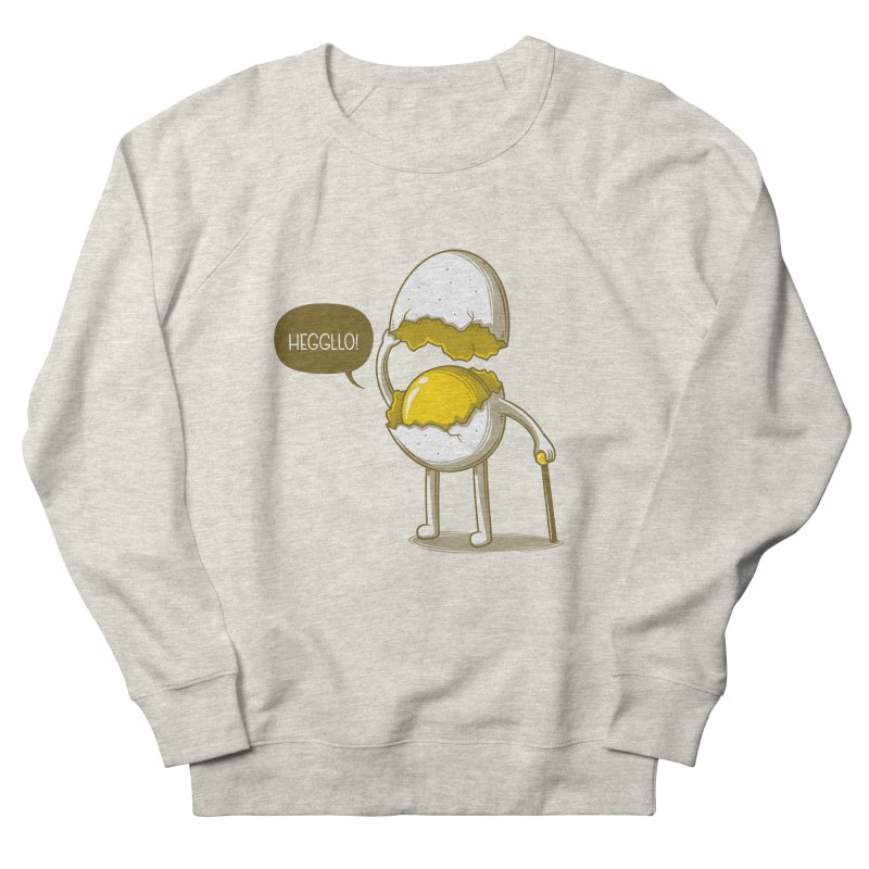 Heggllo! Men's French Terry Sweatshirt by Elia Colombo