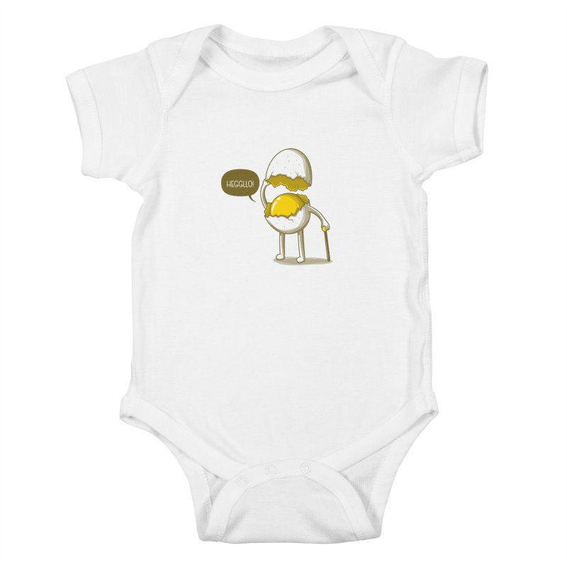 Heggllo! Kids Baby Bodysuit by Elia Colombo