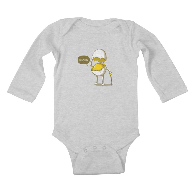 Heggllo! Kids Baby Longsleeve Bodysuit by Elia Colombo